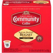 Community Coffee Sugar-Dusted Beignet Sugar-Dusted Beignet Ground Coffee