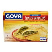 Goya Baked Spinach and Cheese Empanadas