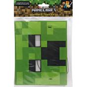 Unique Masks, MineCraft, 4 Assorted Styles