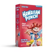Hawaiian Punch Drink Mix, Sugar Free, Fruit Juicy Red, On The Go