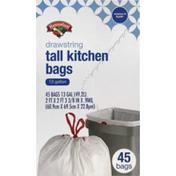 Hannaford Drawstring Tall Kitchen Bags