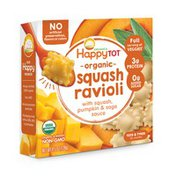 Happy Tot Squash Ravioli with Squash, Pumpkin & Sage Sauce