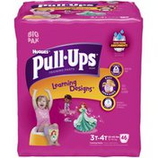 Pull-Ups With Learning Designs for Girls 3T-4T Training Pants
