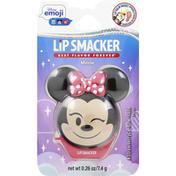 Lip Smacker Emoji Lip Balm Minnie, Strawberry Le-Bow-Nade