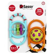 Sassy Rattle & Link, 2-in-1, Linky Links