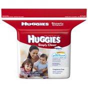 Huggies Simply Clean Refill Baby Wipes
