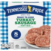 Odom's Tennessee Pride Turkey Sausage Patties
