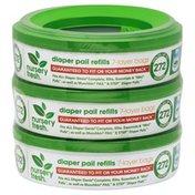 Nursery Fresh Diaper Pail Refills, 7-Layer Bags