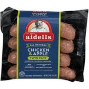 Aidells Fully Cooked Chicken & Apple Smoked Chicken Sausage
