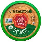 Cedar's Foods Organic Roasted Red Pepper Hommus
