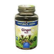 Nature's Herbs Ginger Root Capsules