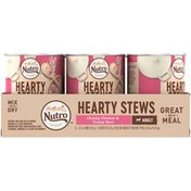 NUTRO Hearty Stews Chunky Chicken & Turkey Stew Adult Dog Food Dog Food