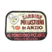 Pollastrini Di Anzio Wild Caught Sardines In Spicy Tomato Sauce