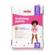 Meijer Training Pants Girl 4T/5T