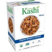Kellogg's Organic Blueberry Clusters Kashi Organic Blueberry Clusters Cereal