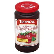 Tropical Jam, Strawberry, Seedless