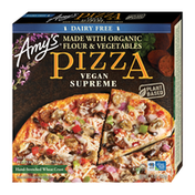 Amy's Kitchen Frozen Pizzas, Vegan Supreme, Dairy Free