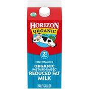 Horizon Organic Reduced Fat Milk