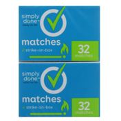 Simply Done Matches