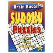 Kingsbridge International Brain Buster, Sudoku Puzzles, Not Packed