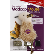 SmartyKat Catnip Toy, Refillable, Madcap Mouse