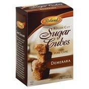 Roland Foods Rough Cut Sugar Cubes, Demerara