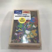 Melissa & Doug Wooden Magnets, Mickey Mouse Clubhouse