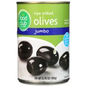 Food Club Jumbo Ripe Pitted Olives