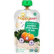 Happy Baby Homestyle Meals Pumpkin, White Beans & Kale Organic Baby Food