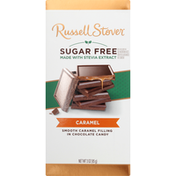 Russell Stover Chocolate Candy, Sugar Free, Caramel