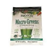 Macro Greens 38 Nutrient-rich Superfoods Dietary Supplement