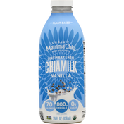Mamma Chia Chiamilk, Organic, Unsweetened, Vanilla
