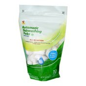Ahold Automatic Dishwashing Packs Fresh Scent - 32 CT