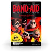 Band-Aid Brand Adhesive Bandages, Disney/Pixar Incredibles 2, Assorted Sizes