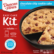 Duncan Hines Cake Mix, Chocolate Chip Cookie Cake, Easy Cake Kit
