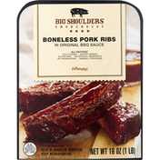 Big Shoulders Smokehouse Pork Ribs, Boneless, Gluten free, All Natural
