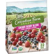Cascadian Farm Organic Cherry Berry Blend, Premium Frozen Fruit, Non-GMO