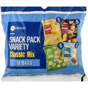 Southeastern Grocers Snack Pack Variety, Classic Mix
