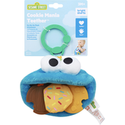 Bright Starts Plush Attachment, On-the-Go, Cookie Mania Teether
