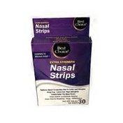 Best Choice Extra Strength Tan Nasal Strips