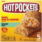 Hot Pockets Ham, Egg & Cheese Frozen Sandwiches