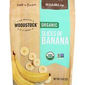 WOODSTOCK Organic Slices of Banana