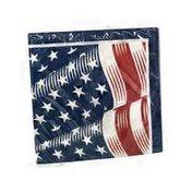 Creative Converting American Stripes Lunch Napkin