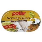 Polar Herring Fillets, in Mustard Sauce