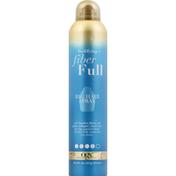 OGX Hair Spray, Bodifying + Fiber Full, Big, 4