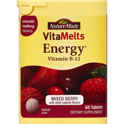 Nature Made Vitamin B-12, Energy, Tablets, Mixed Berry