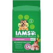 IAMS ProActive Health Small Breed Adult Super Premium IAMS ProActive Health Small Breed Adult Super Premium Dog Food