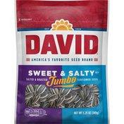 DAVID Seeds Jumbo SweetAnd Salty Sunflower Seeds