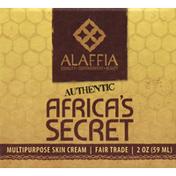 Alaffia Skin Cream, Multipurpose, Africa's Secret