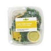 Savvy Salads Tofu Kale Salad with Tangy-Sweet Dressing
